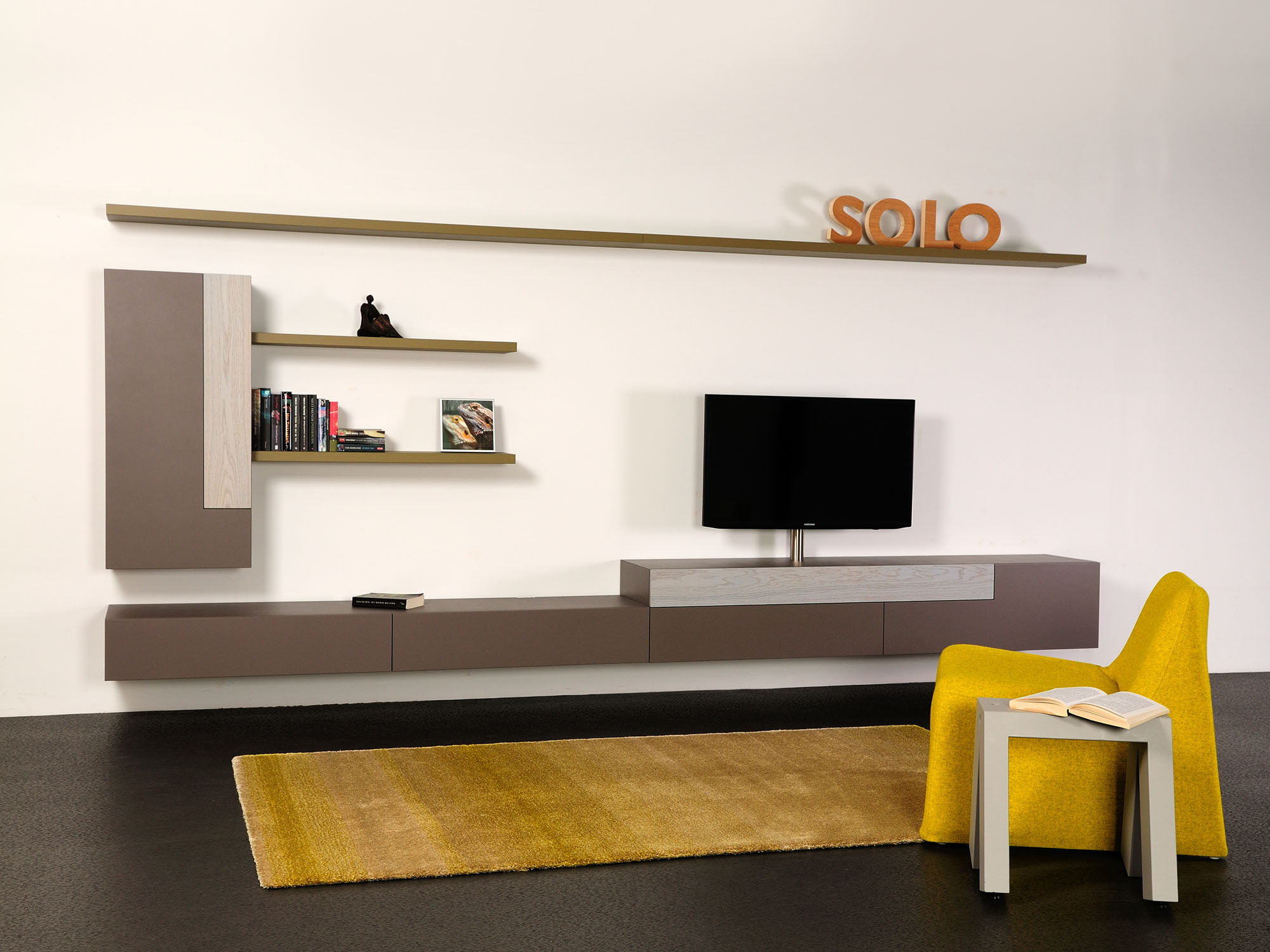 SOLO-wandcombinatie, ontwerp door Castelijn Team