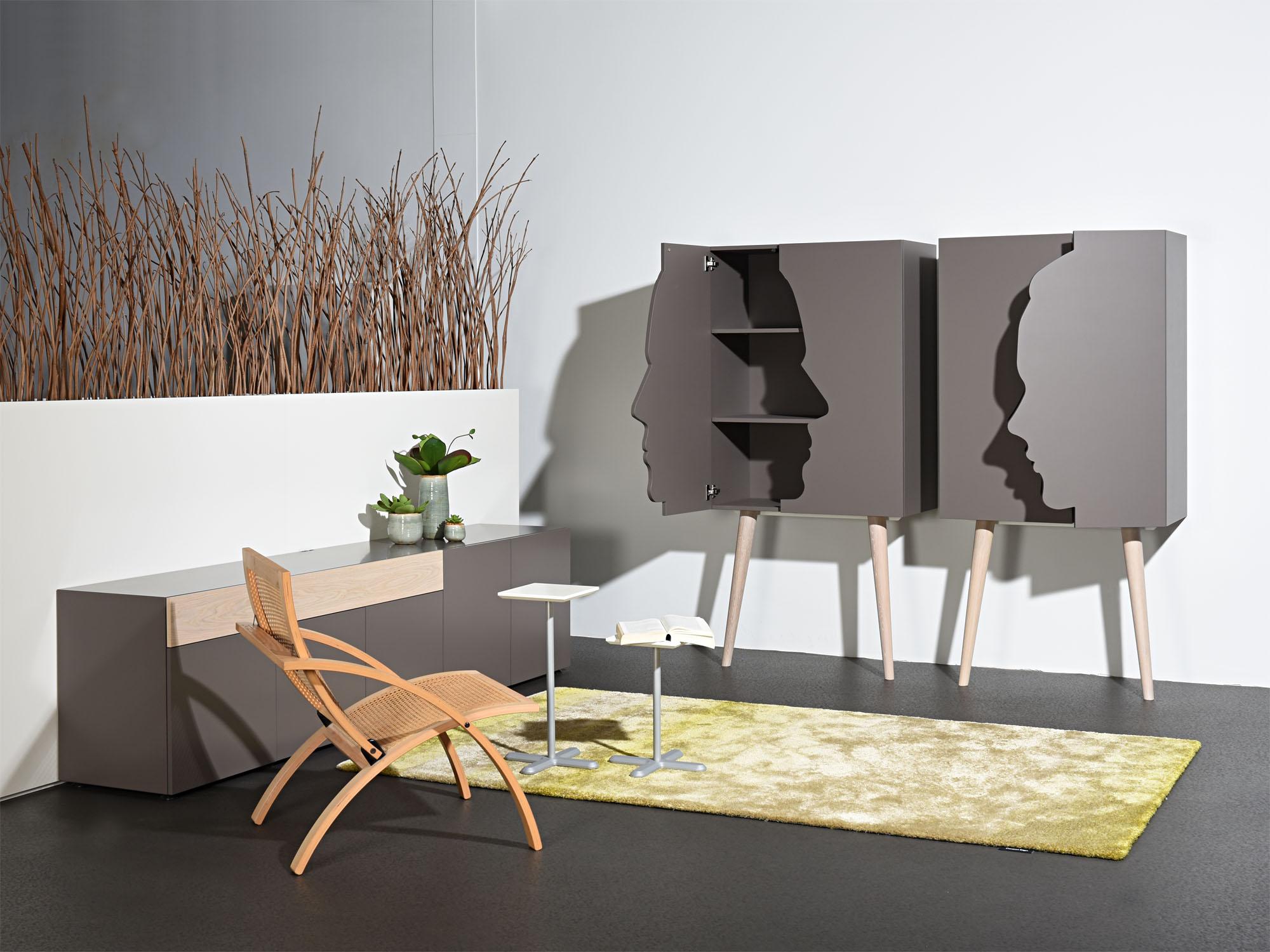SOLO en RP-leunkast, ontwerp door Castelijn-Team en Coen Castelijn