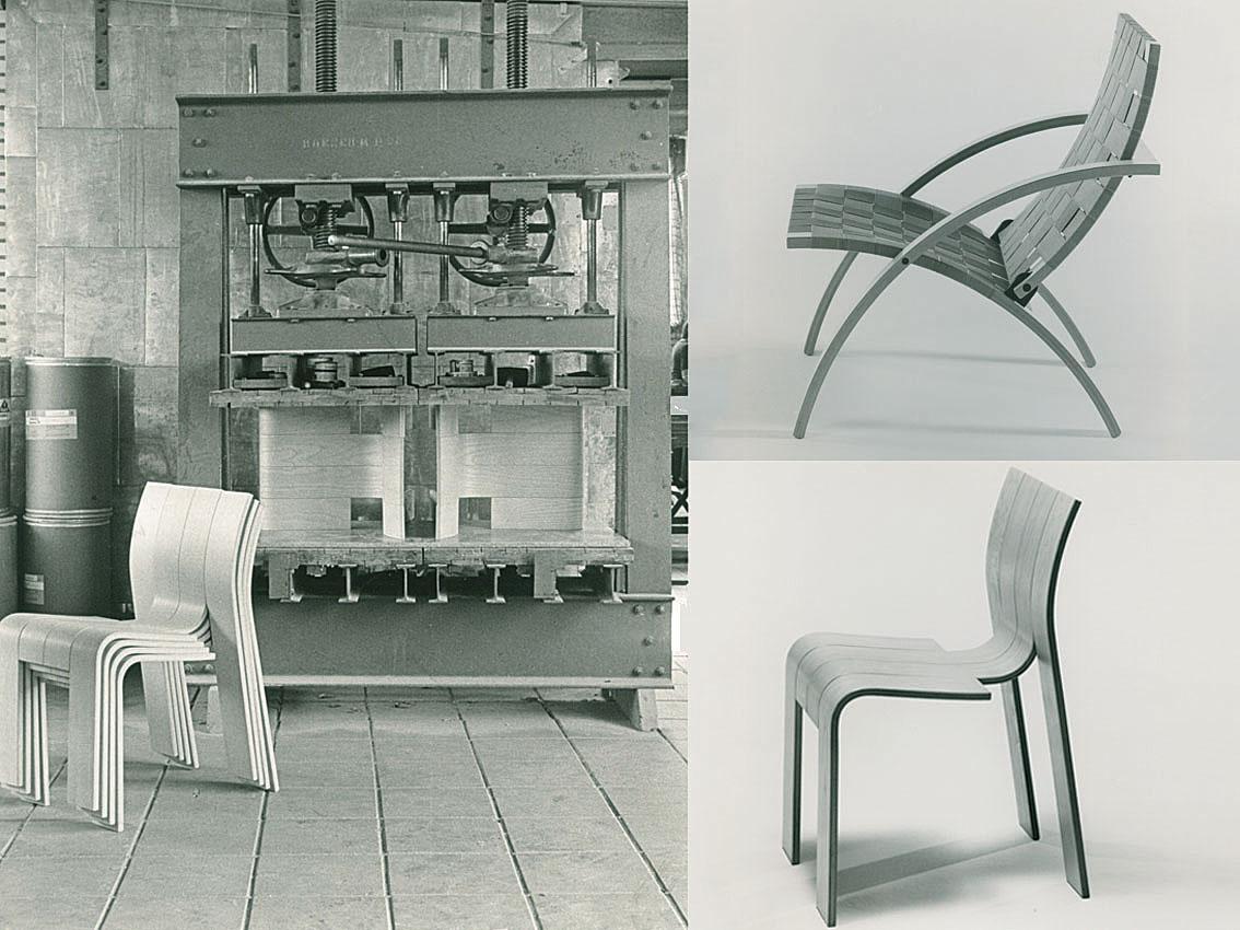 De Castelijn stripstoel (1974) en vouwfauteuil (1976)
