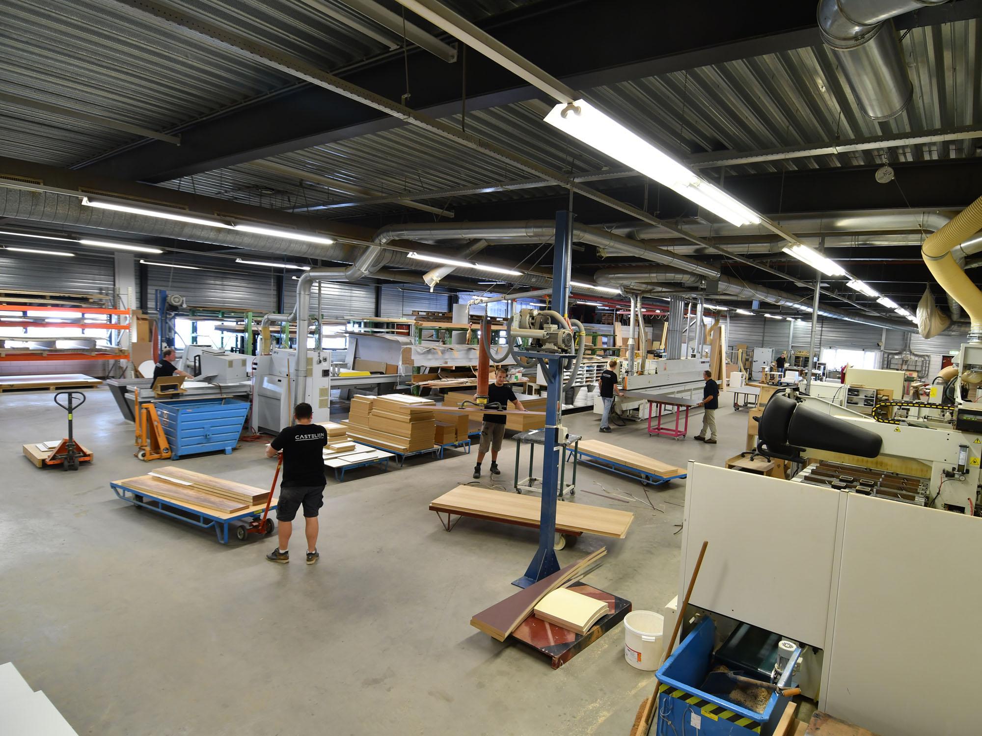 Castelijn fabriek in Roelofarendsveen