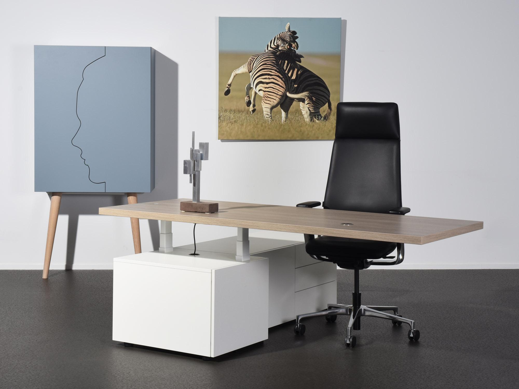 Castelijn zitsta bureau - design by Coen Castelijn